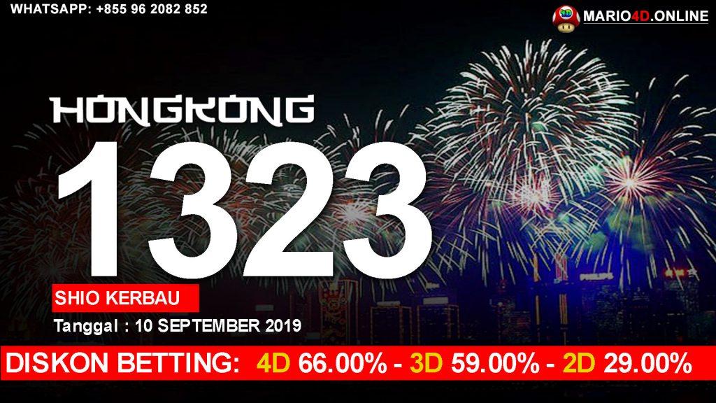 RESULT HONGKONG POOLS 10 SEPTEMBER 2019