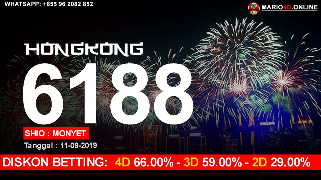 RESULT HONGKONG POOLS 12 SEPTEMBER 2019