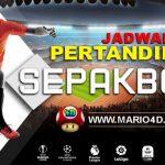 Jadwal Pertandingan Bola 22-23 Oktober 2019