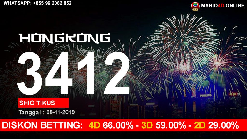 RESULT HONGKONG 5 NOVEMBER 2019