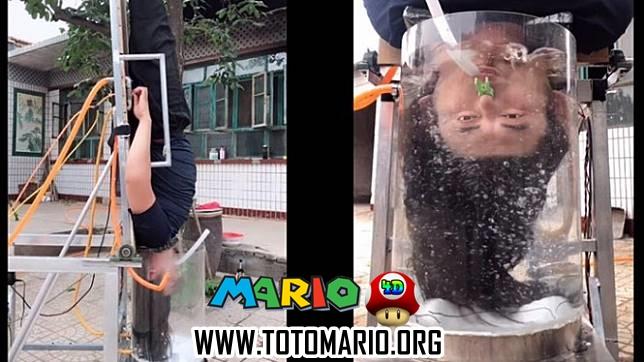Karena Malas Untuk Mandi, Pria ini Ciptakan Alat yang Bisa Cuci Rambutnya Secara Otomatis!