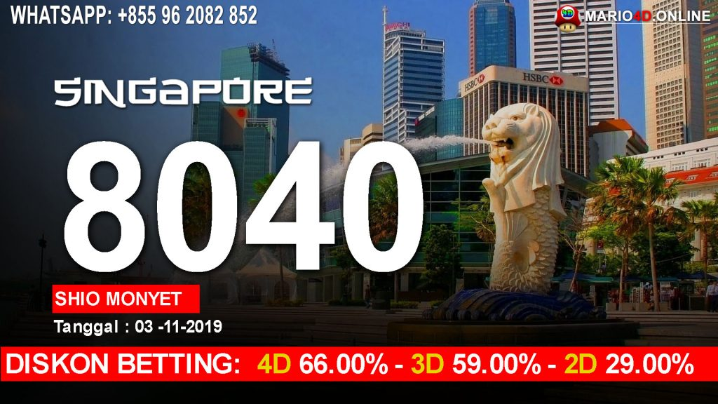 HASIL RESULT SINGAPORE POOLS 03 OKTOBER 2019