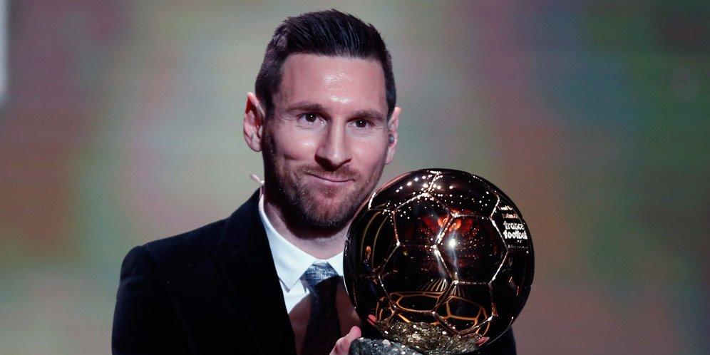 Sudah Raih 6 Ballon d'Or, Lionel Messi Masih Ingin Jadi Lebih Baik Lagi