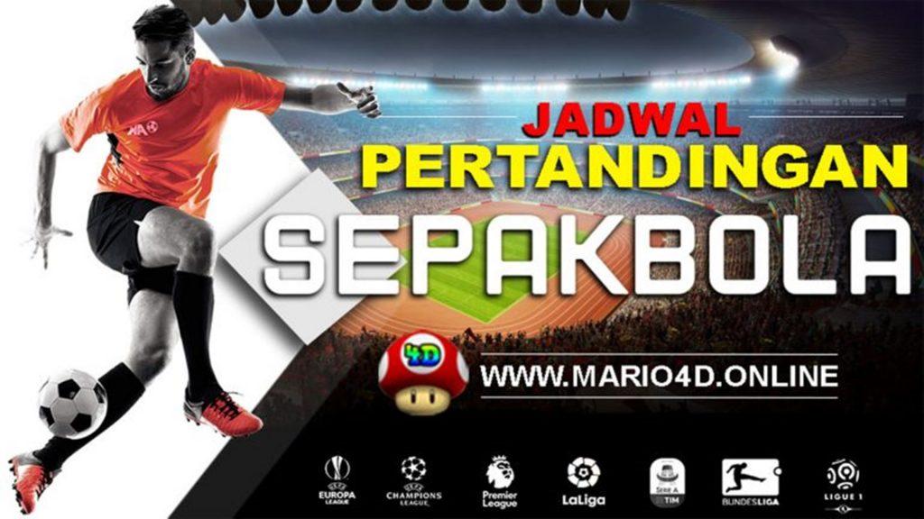 JADWAL PERTANDINGAN BOLA 01 – 02 Desember 2019