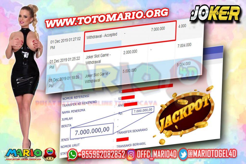 Member Jackpot JOKER Slot Games di MARIO4D