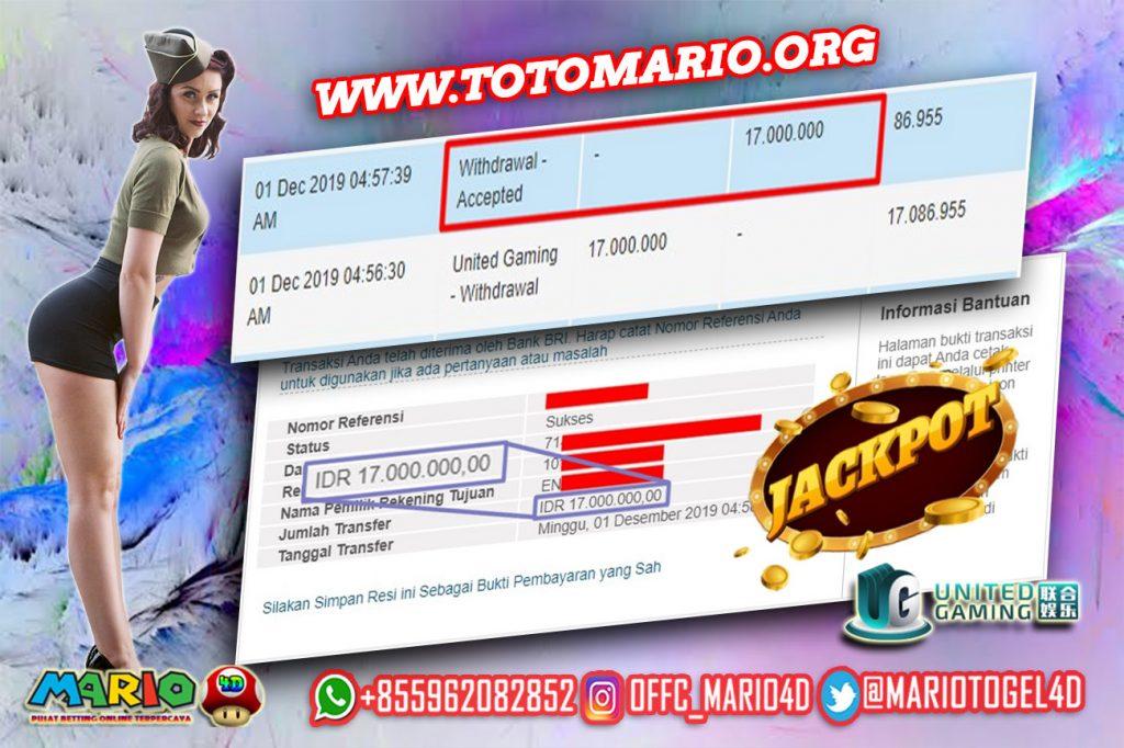 Member Tembus PARLAY Bola di United Gaming MARIO4D