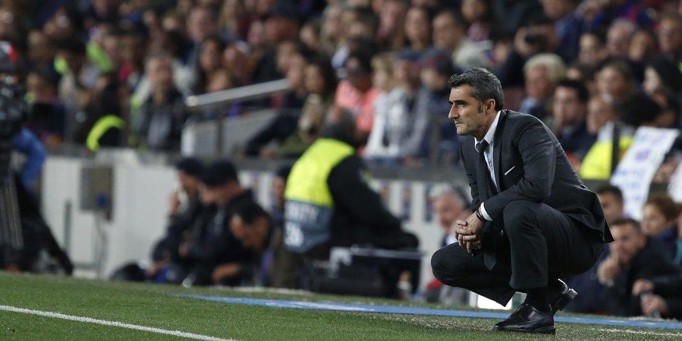 Ernesto Valverde Adalah Salah Satu Pelatih Terbaik dalam Sejarah Barcelona