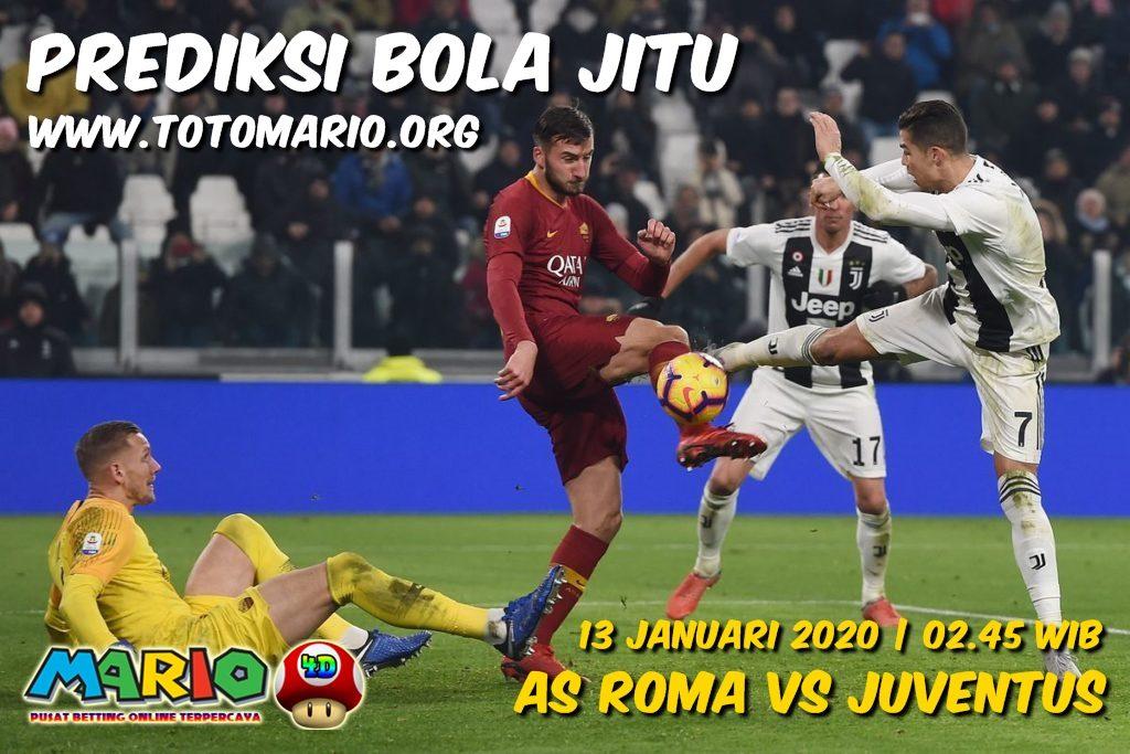 Prediksi AS Roma vs Juventus 13 Januari 2020