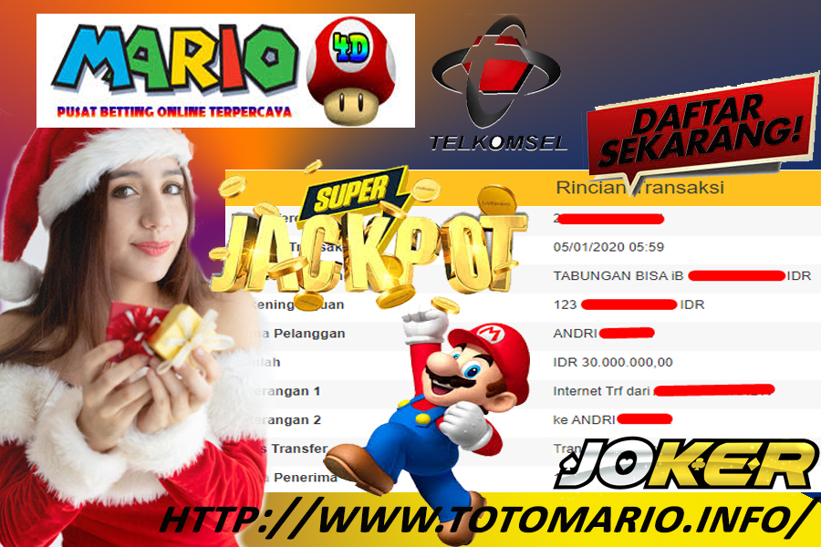 Member Jackpot Slot Game di Joker MARIO4D