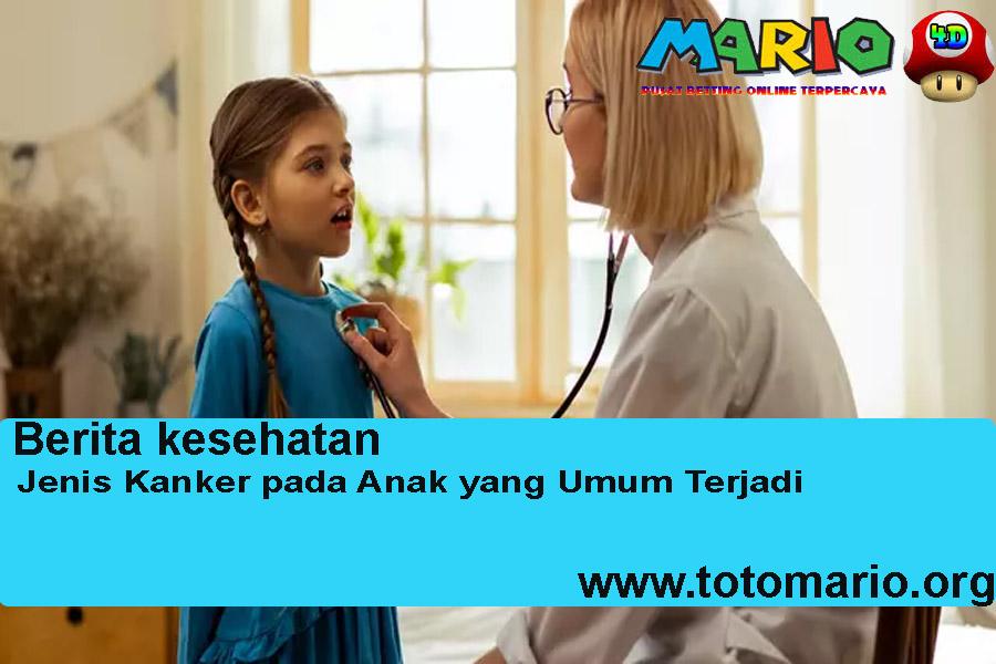 Jenis Kanker pada Anak yang Umum Terjadi