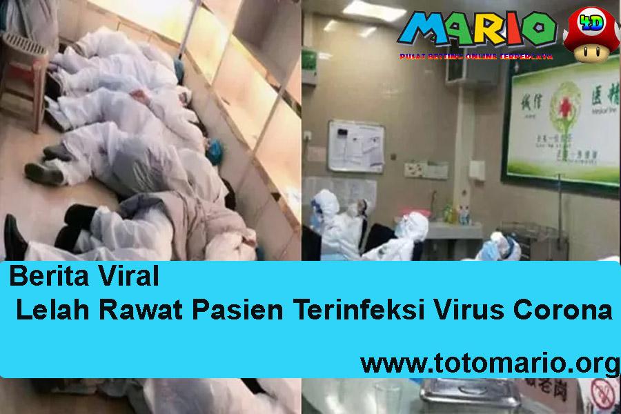 Lelah Rawat Pasien Terinfeksi Virus Corona