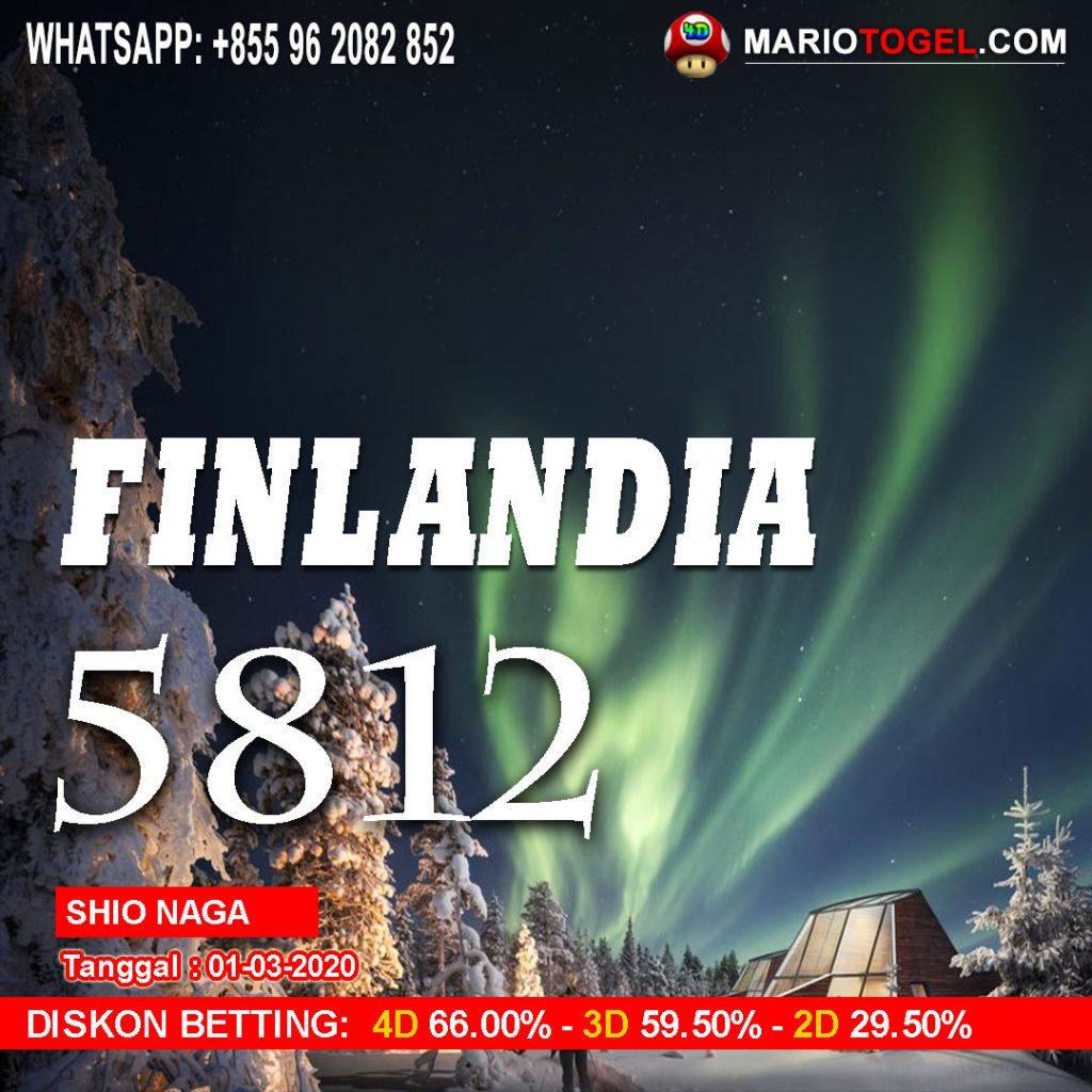 RESULT FINLANDIA 1 MARET 2020 Mario4D