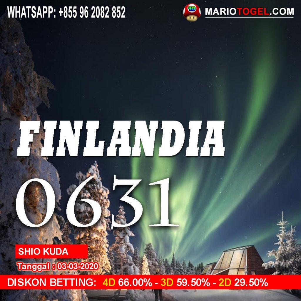 RESULT FINLANDIA 3 MARET 2020