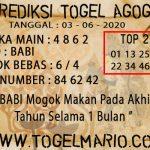 PREDIKSI TOGEL AGOGO 4D TANGGAL 3 JUNI 2020