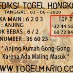 PREDIKSI TOGEL HONGKONG TANGGAL 3 JUNI 2020