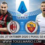Prediksi Pertandingan SERIE A Antara AC Milan VS AS Roma