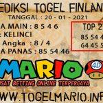 PREDIKSI TOGEL FINLANDIA LOTTERY 20 JANUARI 2021